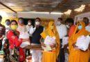 गृहमंत्री ने गरीब परिवारों को वितरित किया तीन माह का निःशुल्क खाद्यान