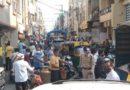 इंदौर में दो दिन दुकानें बंद होने के बाद उमड़ी भीड़