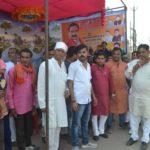 दतिया प्रवास पर गृहमंत्री नरोत्तम मिश्रा का श्यामू ठाकुर के नेतृत्व में हुआ जोरदार स्वागत